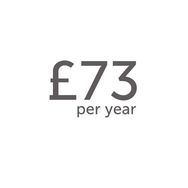 £73 per year