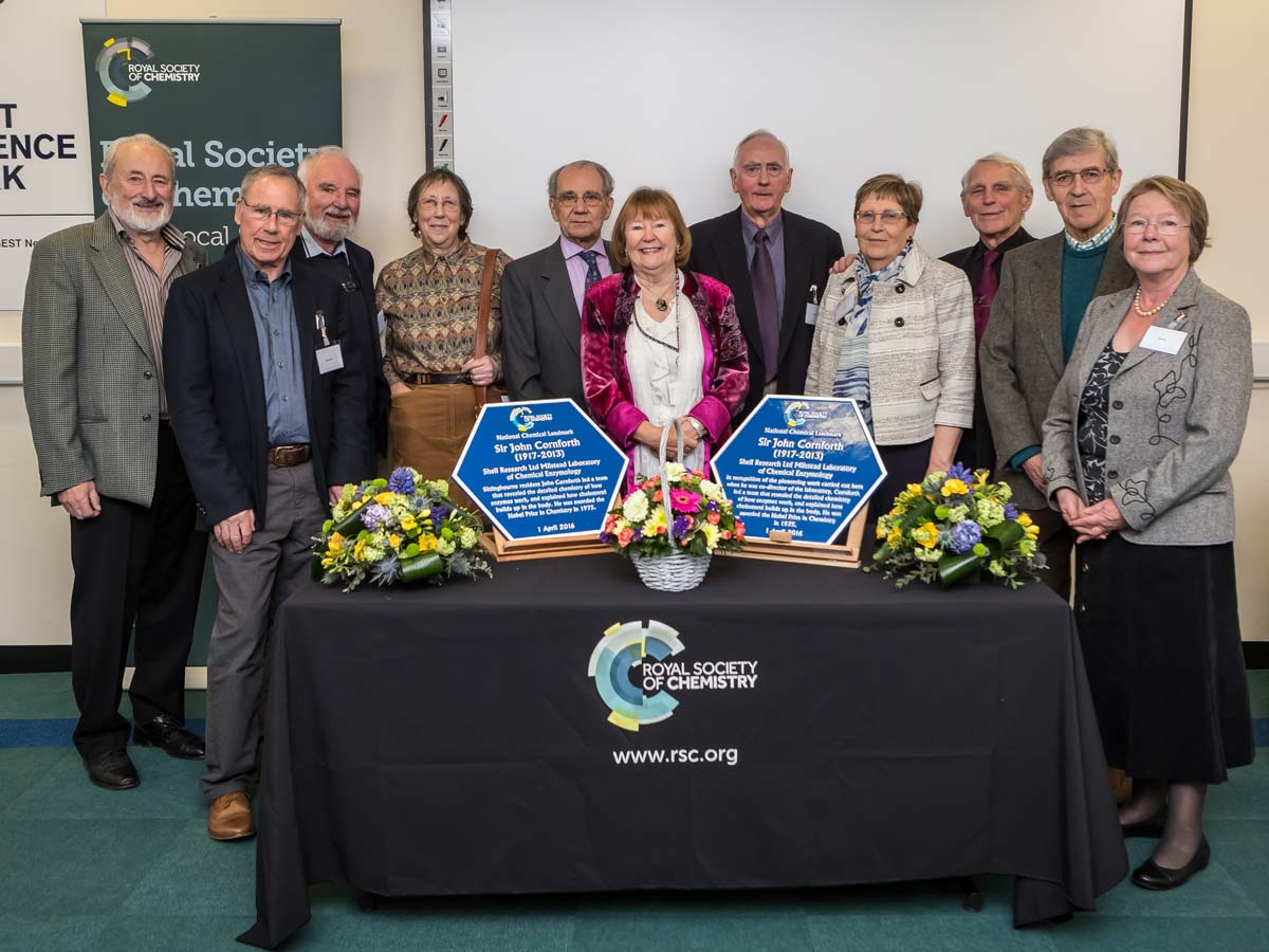Sir John Cornforth Quotes: Twin Chemical Landmark Plaques Unveiled In Sittingbourne