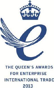 The Queen's awards for Enterprise International Trade 2013