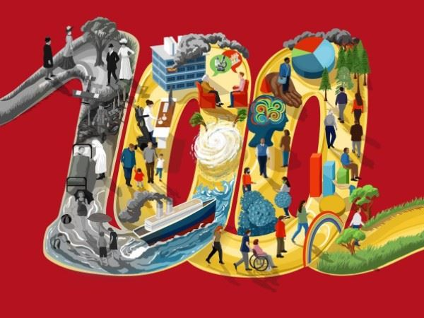 CCF 100 year commemoration graphic