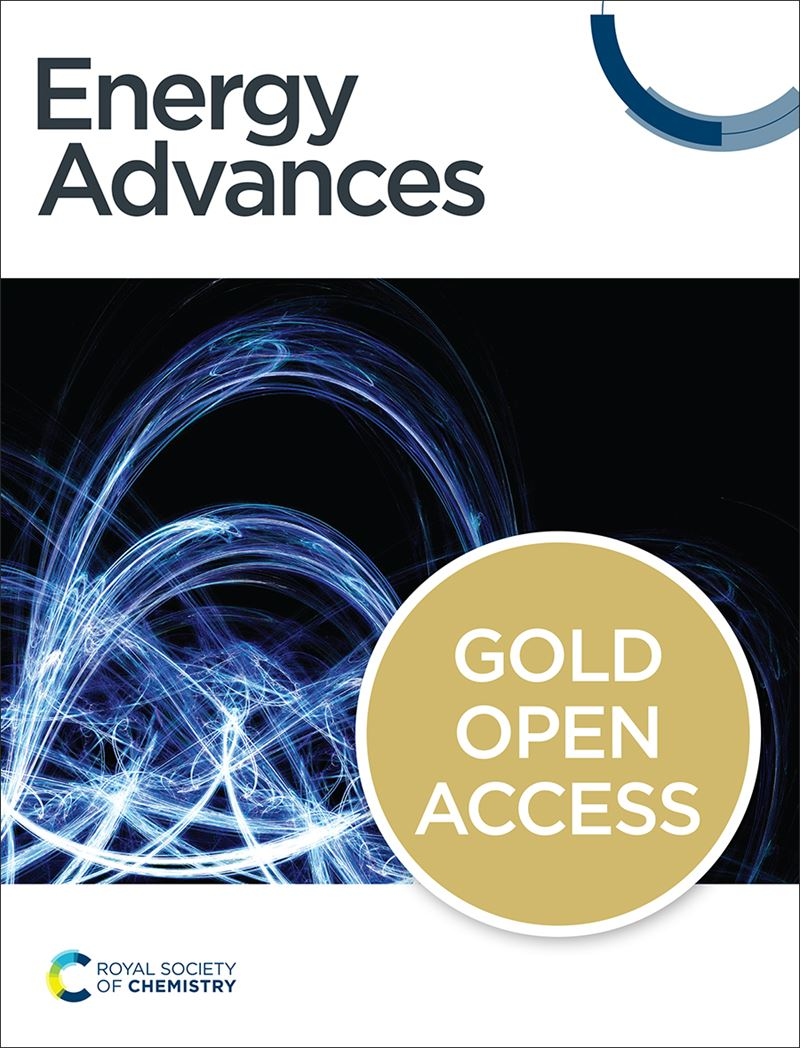 Environmental science advances journal cover