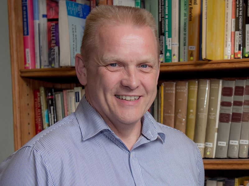 Photo of Professor Tom Welton, President of the Royal Society of Chemistry