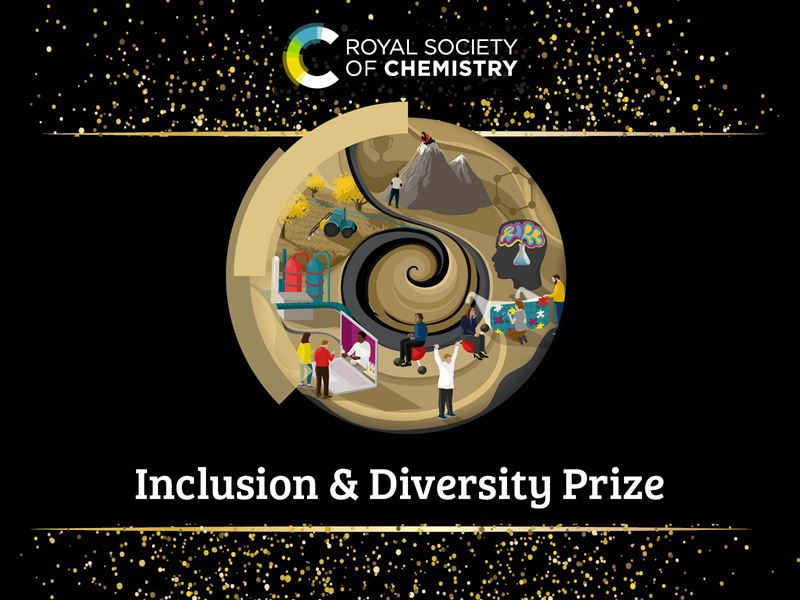 Inclusion and diversity prize logo