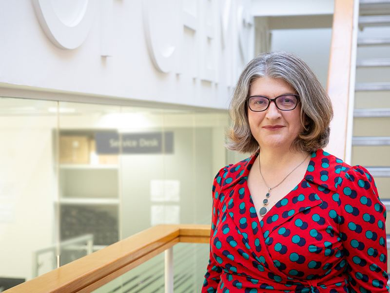 A profile picture of RSC CEO Helen Pain