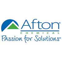 Afton logo, has tag line Passion for Solutions