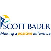 Scott Bader logo with tag line Making a positive difference