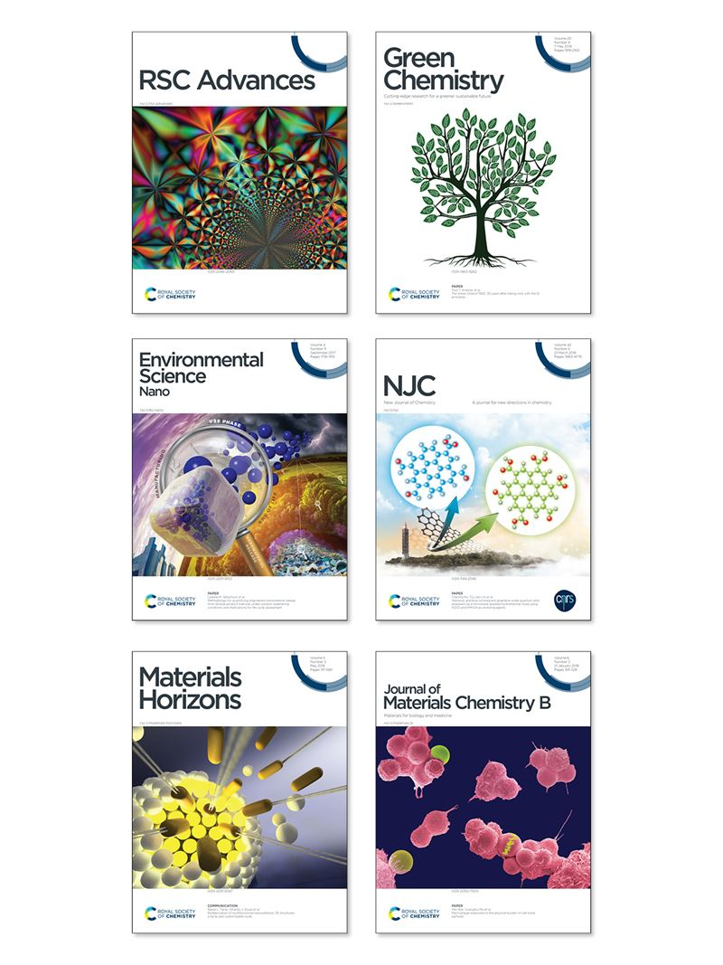 PLF collection of 6 journal covers